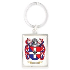 Keenan Coat of Arms (Family Cres Portrait Keychain