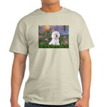 Lilies 4 / Bichon 1 Light T-Shirt