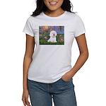 Lilies 4 / Bichon 1 Women's T-Shirt