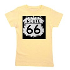 Route 66 sign Girl's Tee