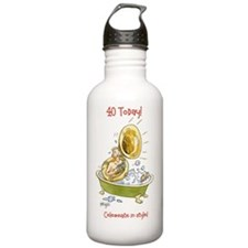 40 today birthday card Water Bottle