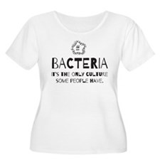 Bacteria. Its the only culture some people have Pl