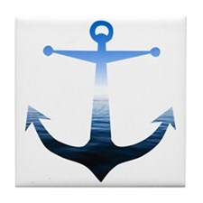 Anchors Away Tile Coaster