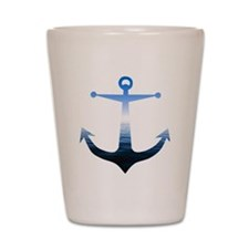 Anchors Away Shot Glass