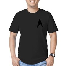 Long Slv Blk Logo 6x6 Pocket T-Shirt