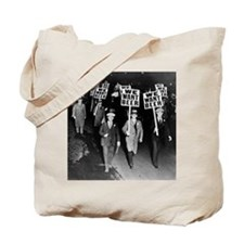 We Want Beer! Protest Tote Bag
