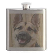 big dog german shepherd face Flask