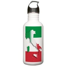 Italy Italian Flag Water Bottle