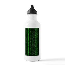 Neo Sci Fi Pattern Water Bottle