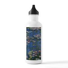 Monet Water Lillies Ar Water Bottle