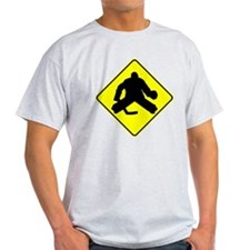 Hockey Goalie Crossing T-Shirt