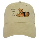 Working Airedale Baseball Cap