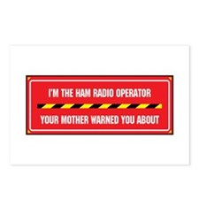 I'm the Ham Radio Operator Postcards (Package of 8
