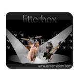 "limited time litterbox ""scratch"" mousepad"