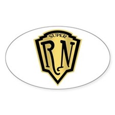 Super RN Oval Decal