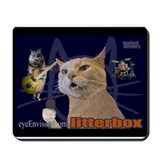 "litterbox ""marked territory"" mousepad"