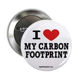 "I Love My Carbon Footprint 2.25"" Button (10 pack)"