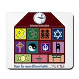 Cute Unitarian Mousepad