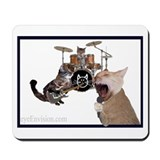 "litterbox ""bag of bones"" mousepad"