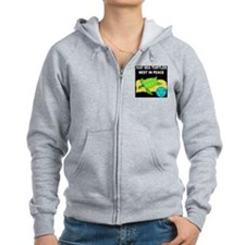 SEA TURTLES - NEST IN PEACE Zip Hoodie