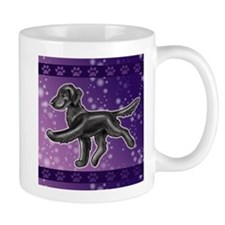 Flat Coated Retriever Night Sky Mugs