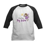 Big Sister - Fairy Kids Baseball Jersey