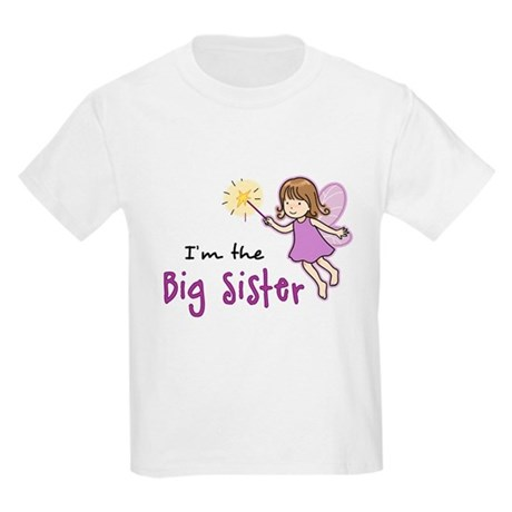 Big Sister - Fairy Kids Light T-Shirt
