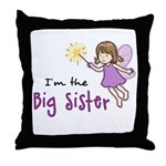 Big Sister - Fairy Throw Pillow