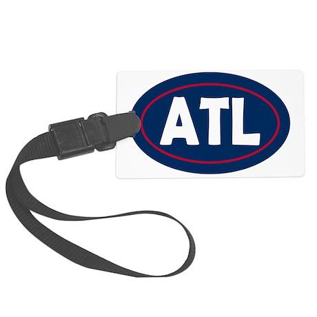 Atlanta Oval Large Luggage Tag