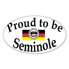 Seminole Oval Decal