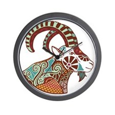Capricorn Wall Clock