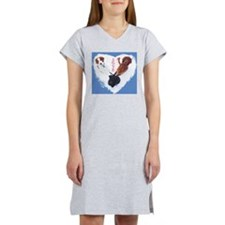 3 Dogs= Extra Love Women's Nightshirt