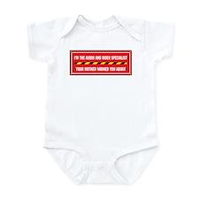 I'm the A/V Specialist Infant Bodysuit