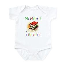 Unique Librarian library Infant Bodysuit