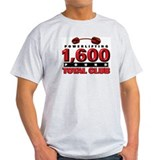 1,600-POUND TOTAL CLUB! Ash Grey T-Shirt