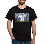 Lilies (6) & Bichon Dark T-Shirt