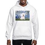 Lilies (6) & Bichon Hooded Sweatshirt