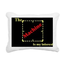 The machine of Person of Rectangular Canvas Pillow