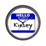 hello my name is kinsey  Wall Clock