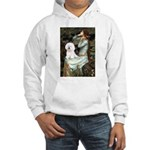 Ophelia & Bichon Hooded Sweatshirt
