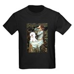 Ophelia & Bichon Kids Dark T-Shirt