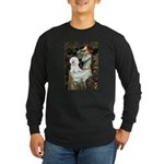 Ophelia & Bichon Long Sleeve Dark T-Shirt