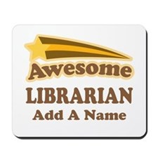 Personalized Librarian Gift Mousepad