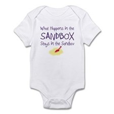 Sandbox w/Shovel Infant Bodysuit