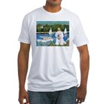 Sailboats (1) Fitted T-Shirt