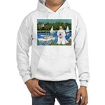 Sailboats (1) Hooded Sweatshirt
