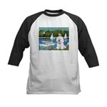 Sailboats (1) Kids Baseball Jersey