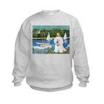Sailboats (1) Kids Sweatshirt