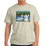 Sailboats (1) Light T-Shirt