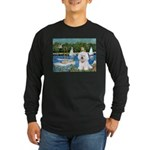 Sailboats (1) Long Sleeve Dark T-Shirt